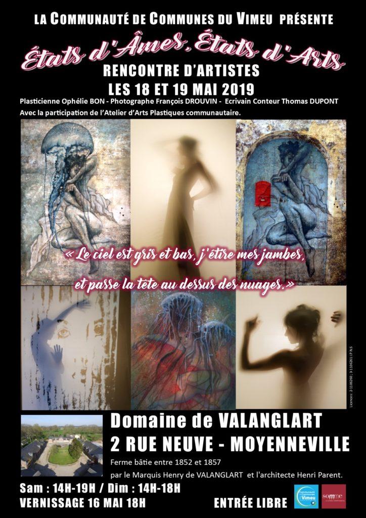 Rencontre d&rsquo;artistes <br />Les 18 et 19 mai 2019